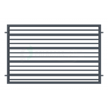 RUBIN Kerítéselem 120*200cm ZN RAL7016 Antracit