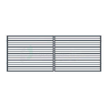 RUBIN Nagykapu 150*300cm ZN RAL7016 Antracit