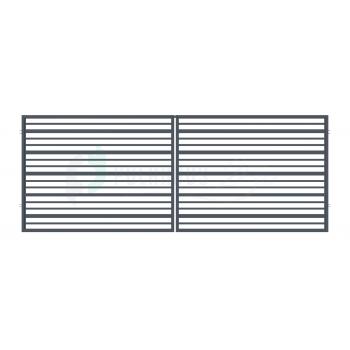 RUBIN Nagykapu 150*400cm ZN RAL7016 Antracit