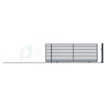 RUBIN Ellensúly nélküli Tolókapu balos 152*430 (400)cm