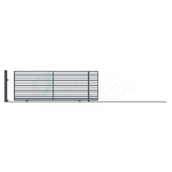RUBIN Ellensúly nélküli Tolókapu jobbos 152*430 (400)cm