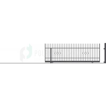 LILA Ellensúly nélküli Tolókapu balos 152*430(400)cm