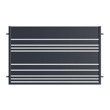 LEVANDER Kerítés elem 120*200 cm RAL7016 MDS