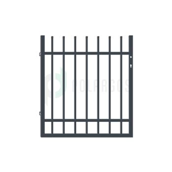 BARCELONA Kiskapu Universal, Antracit színű 110x100cm