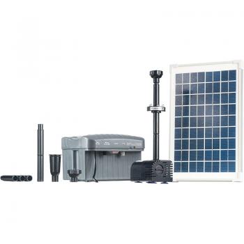 Solar Légpumpa Szett SP760-L, 2db szökőkútszivattyú fejjel, Led és Akku