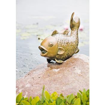 Heissner Dekoratív tófigura vízköpő funkcióval 003291-00 nagy hal, HSP1000 szivattyúhoz