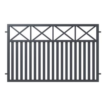 Kerítéselem WINDSOR 120X200(202)cm horganyzott, porfestett RAL 7016