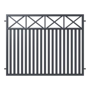 Kerítéselem WINDSOR 150X200(202)cm horganyzott, porfestett RAL 7016