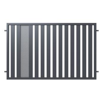 Táblás Kerítéselem HANNOVER 120*200cm, Antracit színű