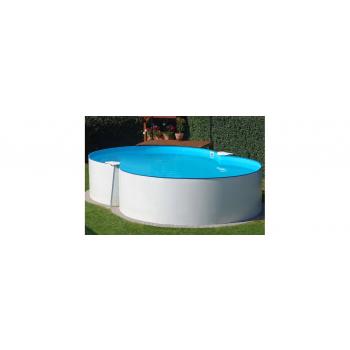 Nyolcas alakú, Szabadon felállítható medence Montevideo 470x300x120cm (SW: 0,4 IH: 0,4) SF 128