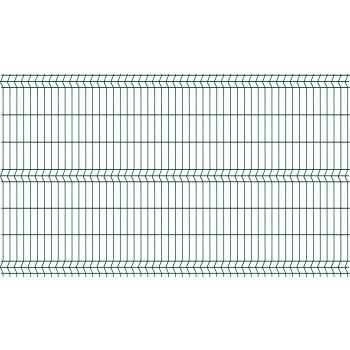 3D SPARTA 50, zöld kerítéselem 1530*2500